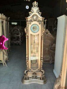 ساعت قصر کامل طلایی