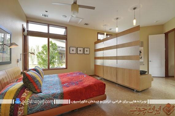 جداسازی-فضای-اتاق-خواب