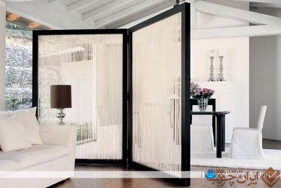 جداسازی-فضای-اتاق-پذیرایی
