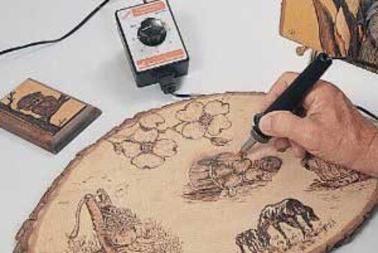 آموزش هنر سوخته کاری چوب