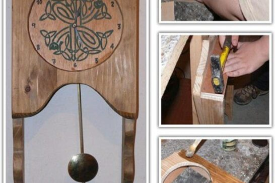 چگونه ساعت چوبی بسازیم ؟