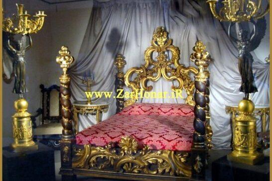 جدیدترین و شیک ترین مدل های تخت خواب سلطنتی دو نفره
