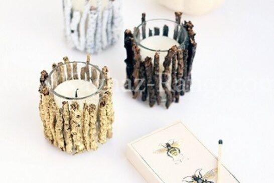 شمع و چوب