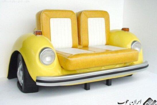 طراحی مبلمان با طرح خودرو