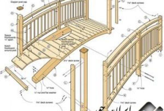 آموزش ساخت پل چوبی