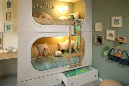 مدل های فانتزی تخت خواب دو طبقه کودک
