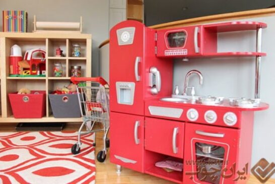ایده هایی برای اتاق بازی کودکان