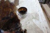 آموزش رنگ آمیزی روی چوب