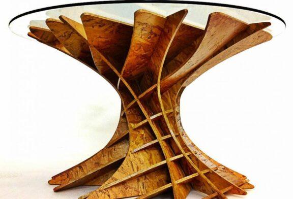 ساخت میز قهوه خوری مدرن، بدون نیاز به ابزار