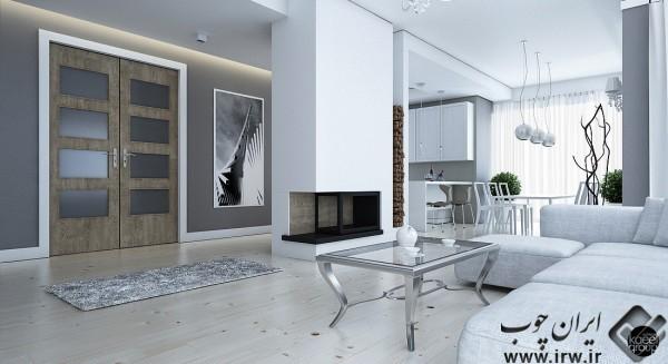 for Casa moderna total white