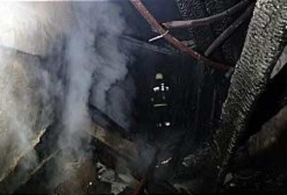 آتش سوزی کارگاه چوب بریدر تهرانپارس