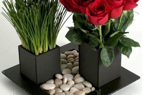 آموزش درست کردن گلدان رومیزی