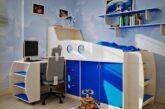 نمونه های دکوراسیون و طراحی اتاق خواب کودک برای اتاق های کوچک