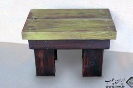 ساخت چهارپایه چوبی