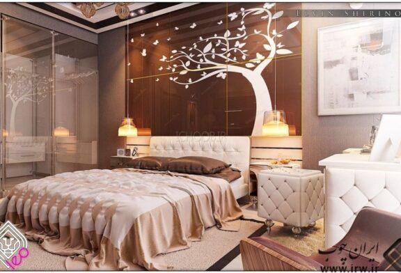 ایده های طراحی اتاق خواب های شیک و زیبا که به سبک مدرن
