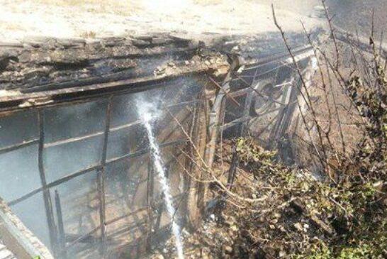 آتشسوزی کارگاه نجاری در اراک مهار شد