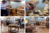 نمایشگاه منبت چوب در نقش خانه نقش جهان