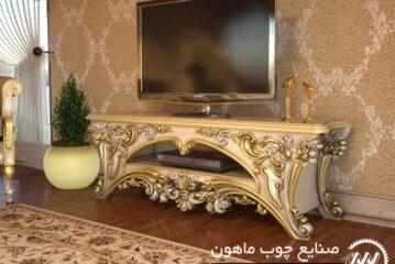جدیدترین مدلهای میز تلویزیون کلاسیک و سلطنتی