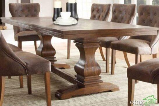 میز-ناهار-خوری-چوبی-12