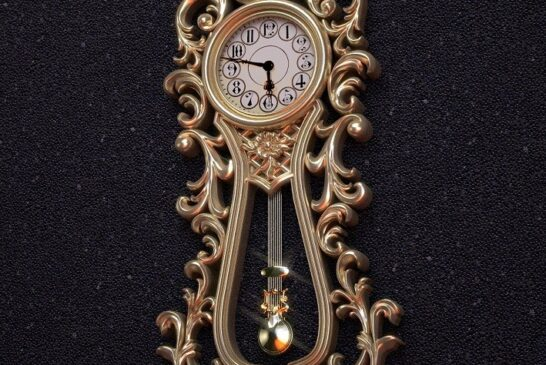 جدیدترین مدلهای ساعت دیواری کلاسیک چوبی
