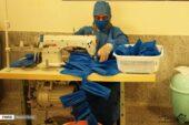 تولید ماسک رایگان توسط هنرمندان مبل و منبت ملایر
