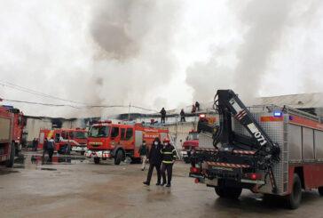 آتش سوزی درصنایع چوب چوکا در رضوانشهر مهار شد