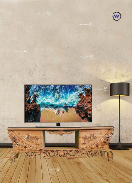 میز تلویزیون منبت آیشیل